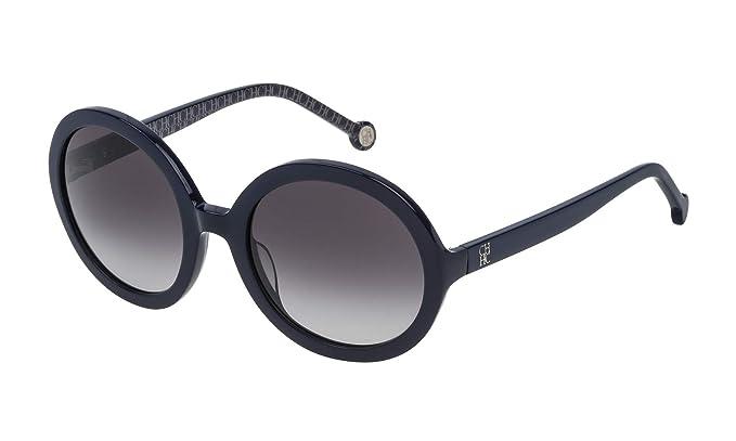 Carolina Herrera SHE696530D82 Gafas de Sol, Azul, 53 para Mujer