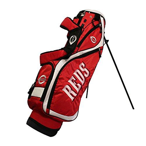 Team Golf 95627 Cincinnati Reds MLB Nassau Golf Stand Bag by Team Golf