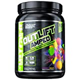 Nutrex Research Outlift Amped | Premium Pre-Workout Focus & Energy, Citrulline, Teacrine, Betaine, Creatine, Beta-Alanine | Cosmic Blast | 20 Servings For Sale