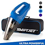 #7: SwiftJet Car Vacuum Cleaner - High Powered 4 KPA Suction Handheld Automotive Vacuum - 12V DC 120 Watt - 14.5