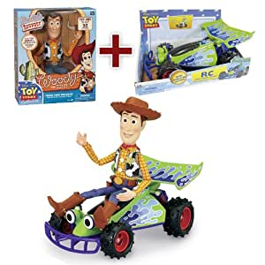 Amazon.com: Disney Pixar Toy Story Talking Woody & Free ...