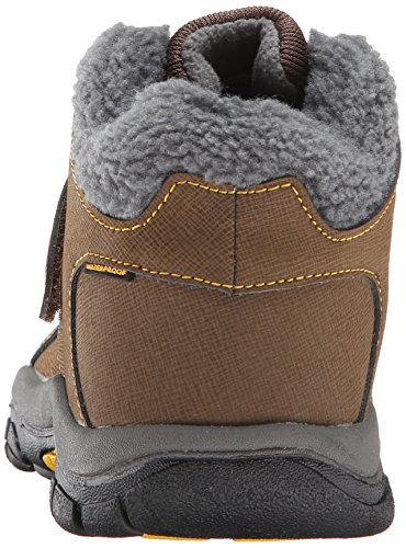 KEEN Kootenay Waterproof Winter Boot (Little Kid/Big Kid), Dark Earth/Spectra Yellow, 4 M US Big Kid by KEEN (Image #2)