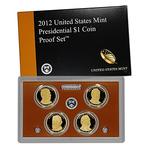 2012 S US Mint Presidential $1 Coin Proof Set OGP $1 Proof US ()