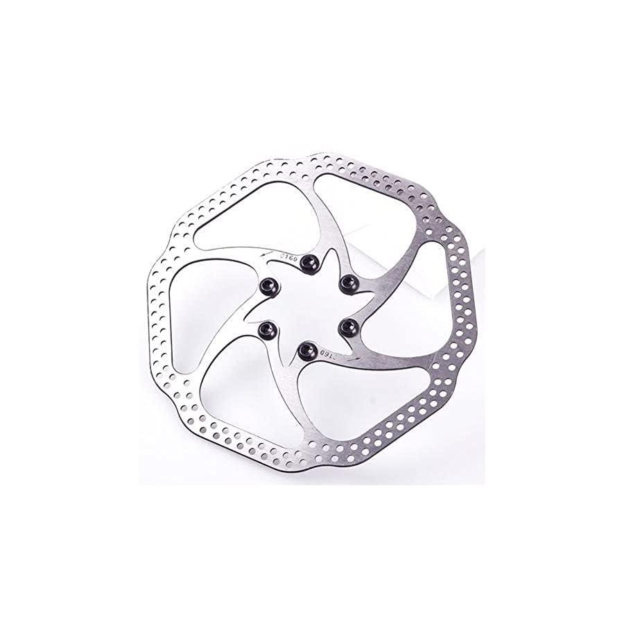jingsmy 160mm Disc Braker Rotor silver for MTB BB5 BB7 Bicycle Clying