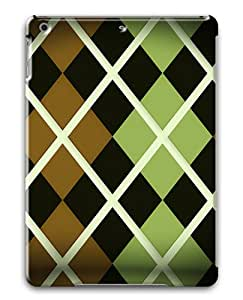 Argyle pattern Custom Apple iPad Air/ iPad 5th Generation Case Cover ¨C Polycarbonate