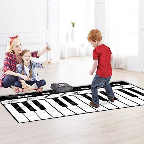 最高の贈り物 2020 ANCEマットのためにキッズ3、子供の日のギフト女の子や子供の女の赤ちゃんのおもちゃダンスマットのために幼児幼児教育啓発 -ミュージカルダンスマット (Color : Red, Size : 120×46cm)