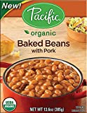 Pacific Natural Foods Organic Baked Beans with Pork -- 13.6 oz - 2 pc