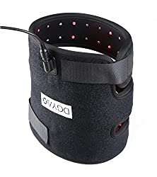 Red Light 880 nm Infrared Light Therapy Combination 2 in 1 Knee Elbow Brace Pain Relief Device at Home Hands Free for Tissue Recovery Alleviate pain Tennis Elbow, Bursitis, Arthritis,Sore Joint Muscle