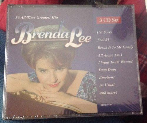 Brenda Lee - 36 All-Time Greatest Hits - Zortam Music