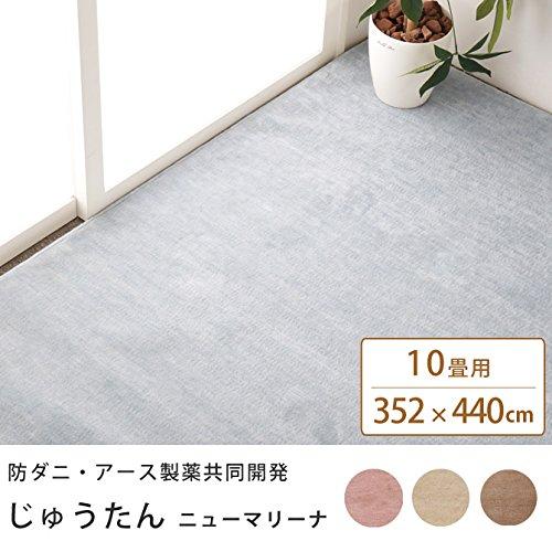 ■じゅうたん 絨毯 10畳 ニューマリーナ マット 日本 フロア インテリア/RO B075M49K8D RO