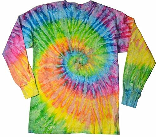 Colortone Tie Dye L/S XL Saturn (Mens Tye Dye T-shirt)