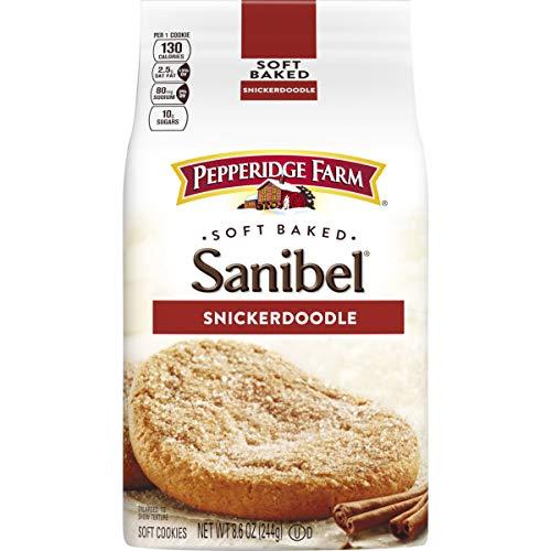 Pepperidge Farm Soft Baked Cookies, Sanibel Snickerdoodle, 8.6 Ounce (pack of 5)