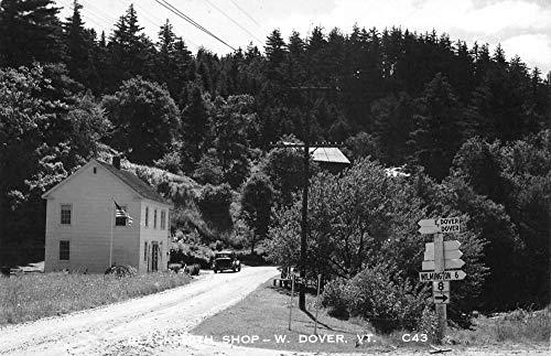 Dover Vermont Blacksmith Shop Real Photo Antique Postcard K431359