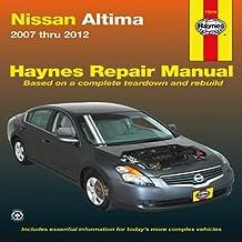 Nissan Altima 2007 thru 2012