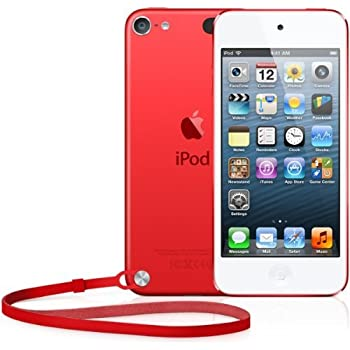 Amazon.com: Apple iPod Touch (5th Generation), 32GB, Red ...