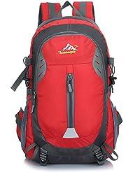 ONEPACK Hiking Backpack, 40L Waterproof Daypack for woman man Outdoor Camping Travel Hiking Trekking Mountaineering
