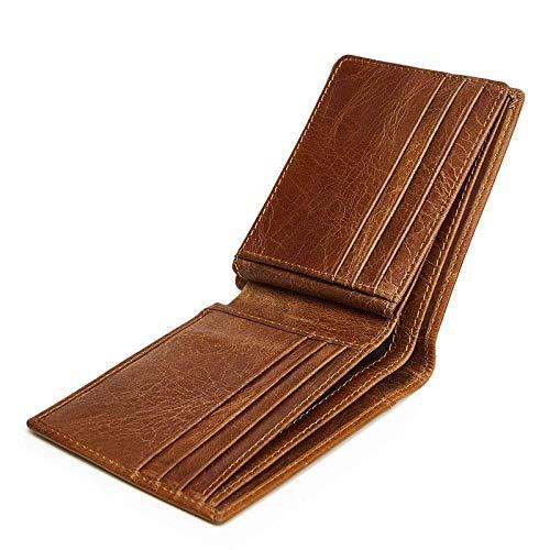 Hommes Cuir Portefeuille cartes Porte Homme Pour Yter En Simple Bf8wx6fqY