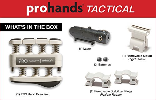 Prohands Tactical The Ultimate Training Tool For Handgun Accuracy Heavy Resistance (9 lb Pull Weight)