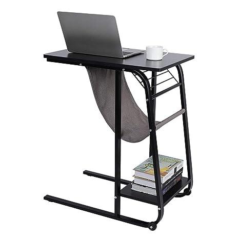Amazon.com: Mesa auxiliar para sofá, mesa de café moderna y ...