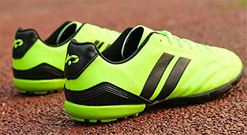 NEWZCERS Tf Football Training Shoes for Women & Men & Boys & Girls Green 8q6ie8