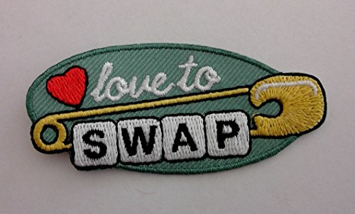 - Love To Swap Girl Scout Brownie Patch