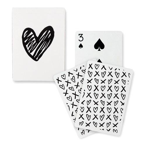 Amazon Playing Cards Black Foil Heart Xoxo Deck Of Cards