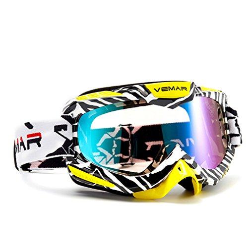Parabrisas de Material Gafas explosiones de PC Ciclismo esquí de Prueba a de N Prueba montaña antivaho Arena g6wC6dq