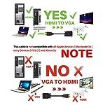 Cavo-Adapter-Adattatore-Video-Converter-da-HDMI-a-VGA-da-1080p-a-maschio-a-maschio-D-SUB-15-Pin-M-M-Full-1080P-con-connettore-di-segnale-unidirezionale-a-uscita-audio-da-35-mm-18m-6ft
