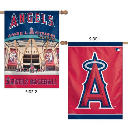 Angels Flag (LA Angels Two Sided House Flag)