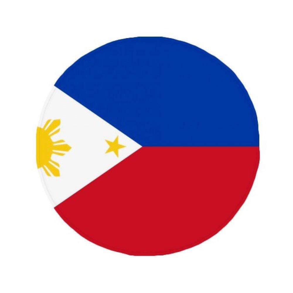 60X60cm DIYthinker Philippines National Flag Asia Country Anti-Slip Floor Pet Mat Round Bathroom Living Room Kitchen Door 60 50Cm Gift