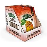 Natural Sins Crispy Mango Chips Mango 1 Ounce Bag (6 Pack), Lightly Sweetened Mango Chips, Vegan, Salt- Oil-Gluten-Free, Paleo-Friendly, Snack Food, Dried Mango Chips