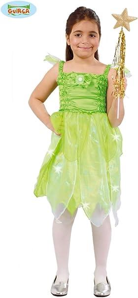 Disfraz de Hada del Bosque verde para niña: Amazon.es: Ropa y ...