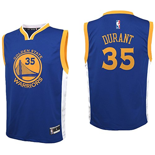 Warriors Nba Team (NBA Youth 8-20 All Star Team Color Players Replica Jersey (Small 8, Kevin Durant Road))