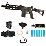 Tippmann US Army Project Salvo eGrip Paintball Marker HPA N2 Extreme Combo