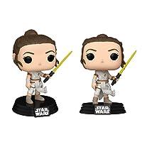 Funko Pop! Star Wars: Star Wars - Rey with Yellow Saber