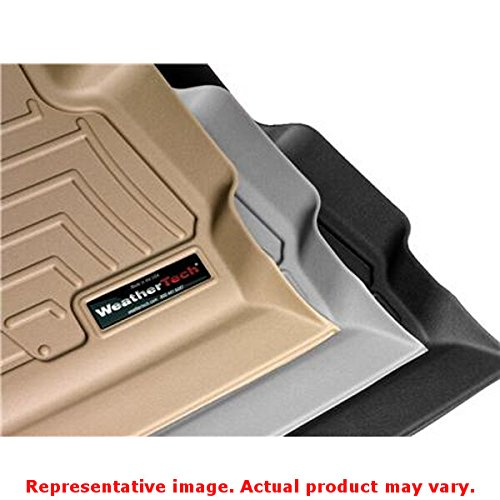 2010 Chevy Weathertech (WeatherTech Custom Fit Rear FloorLiner for Select Chevrolet/GMC Models (Black))