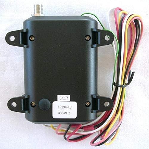 Heddolf ER294-KB Long Range 1500Ft Gate Opener Receiver 433MHz for EX220 Remote