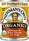 Newman'S Own Organics Chicken & Liver Dinner For Dogs 12.7 - Ounce (Pack Of 12)