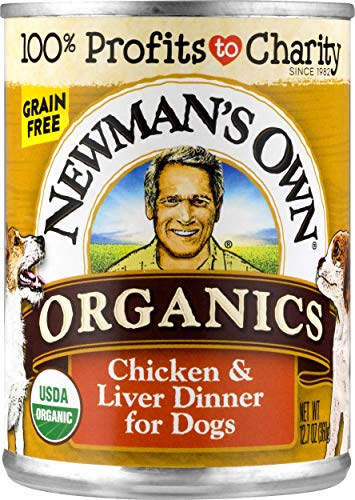 Newman's Own Organics Chicken and Liver Grain-Free Food for