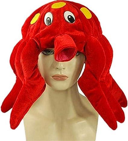 Sombrero de pulpo, criatura marina, divertido, Crazy Cap ats ...