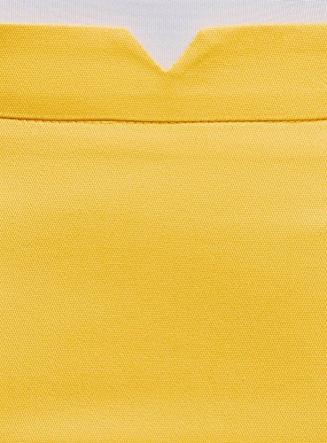 Ultra en Coton oodji Jaune Jupe 5100n Femme Crayon g1ffSPqWxw