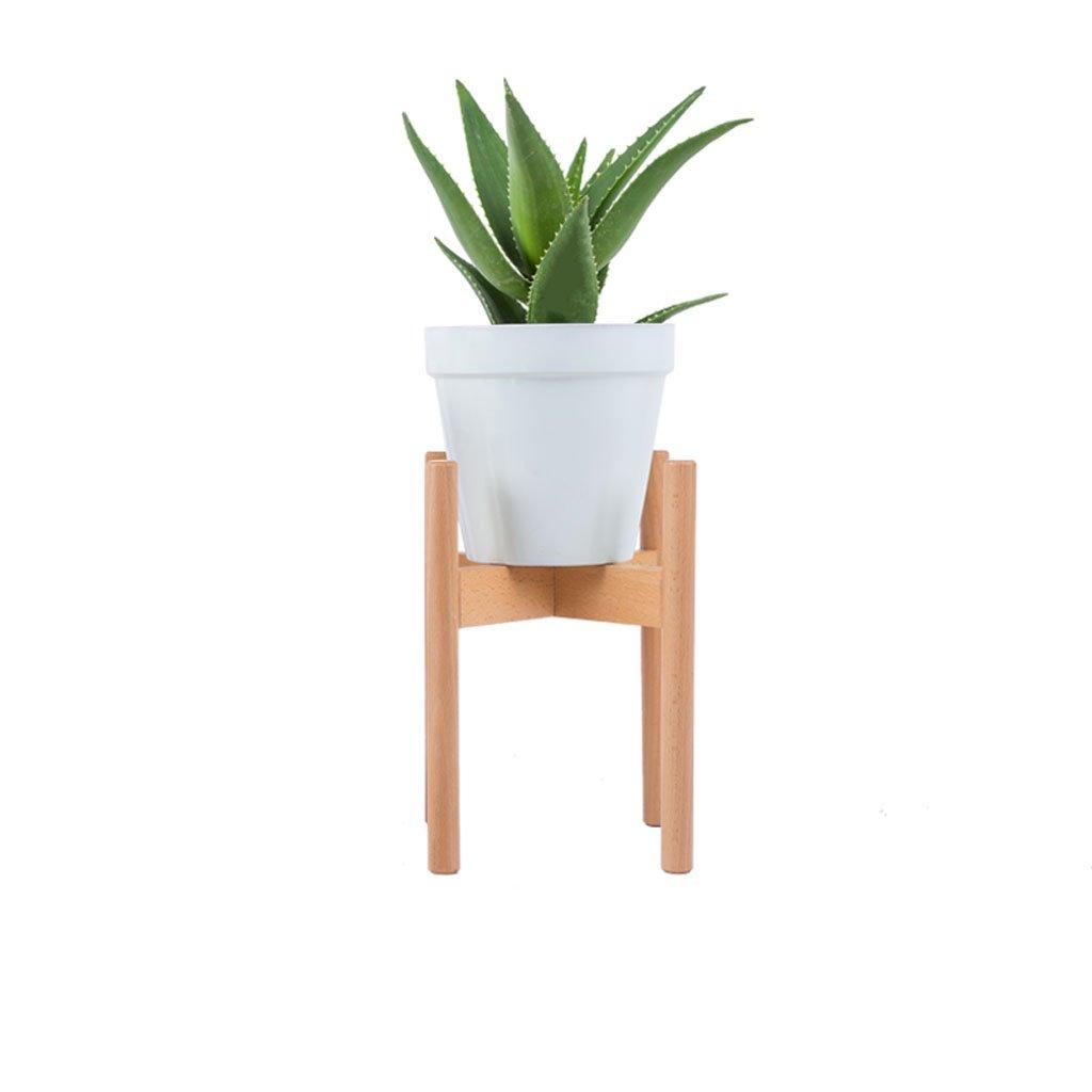 LIAN Semplice porta fiori in legno, portavasi per piante balcone soggiorno tipo vaso da fiori (dimensioni   Medio)