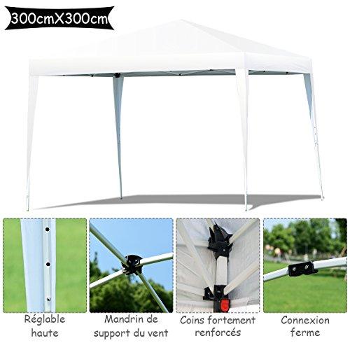Yngtaifeng Tente de Réception Imperméable Tente Pavilion Chapiteau ...