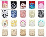 BEST SELLER! 20 KaWaii Baby Printed Snap One Size Pocket Cloth Diaper Shells
