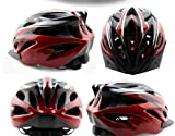 GIANT Unisex Cycling Light Helmet Road Bike MTB Team Cycling Helmet Red Black