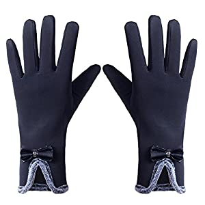 GLOUE Women's ScreenTouch Gloves Warm Weather Lined Thick Touch Warmer Winter Glove (4)
