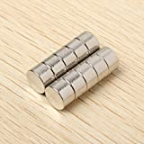 New 10pcs D8x5mm N35 Neodymium Magnets Rare Earth Strong Magnet