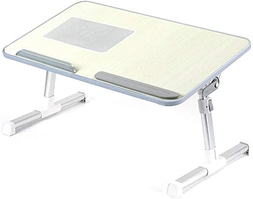 Mesa de Cama Escritorio Bandeja de Sofá Cama USB Refrigeración ...