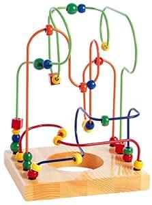 Amazon Com Educo Bead And Wire Maze L Il Genius Toys