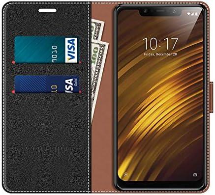 COODIO Funda Xiaomi Pocophone F1 con Tapa, Funda Movil Xiaomi ...